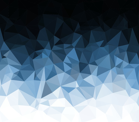 abstract triangulated background. triangular style, texture. Modern Design. 3d. blue Stock Photo