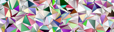 Abstract background. mosaic. triangulated texture. Design 3d. Polygonal geometrical texture. Triangular style