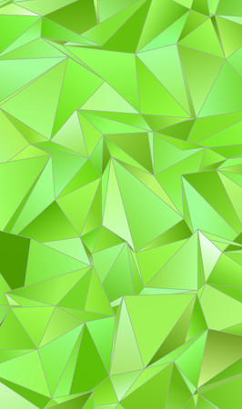 Abstract Triangle Background. 3D Triangles. Modern Wallpaper. Vector illustration Stock Photo