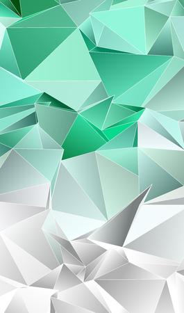 Abstrakter Low-Poly-Hintergrund. triangulierte Textur. Design 3d. Polygonales geometrisches Muster. Dreieckiger moderner Stil