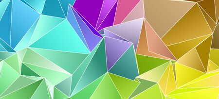 abstract  background 3d.  Design wallpaper. Polygonal banner