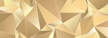 Abstract Low-Poly background. triangulated texture. Design 3d. Polygonal geometrical pattern. Triangular modern style Zdjęcie Seryjne - 138045652
