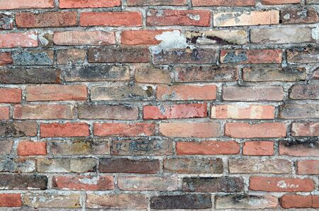 old color brick wall texture background Zdjęcie Seryjne