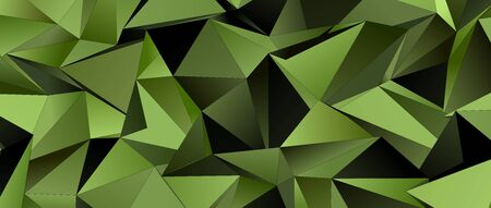 Abstract Low-Poly background. triangulated texture. Design 3d. Polygonal geometrical pattern. Triangular modern style Zdjęcie Seryjne - 141800736
