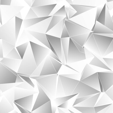 3d Triangles, abstract background. Design wallpaper. Stock Photo