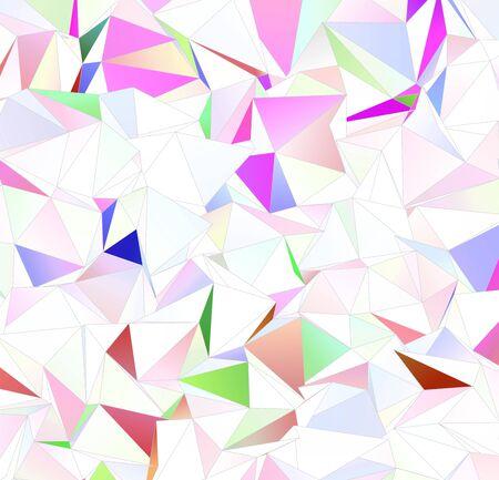 3D-Dreiecke, abstrakter Hintergrund. Designtapete