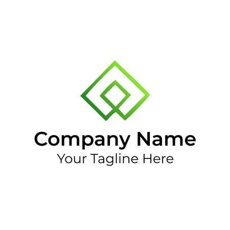 Multiple Square Unique Logo Vector