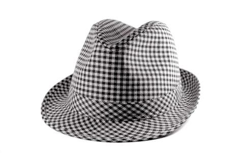 Beautiful hat on isolated white background Stock Photo