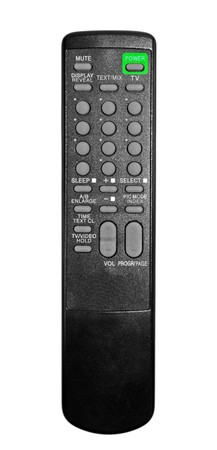TV remote control isolated on white background Stock Photo - 4341470