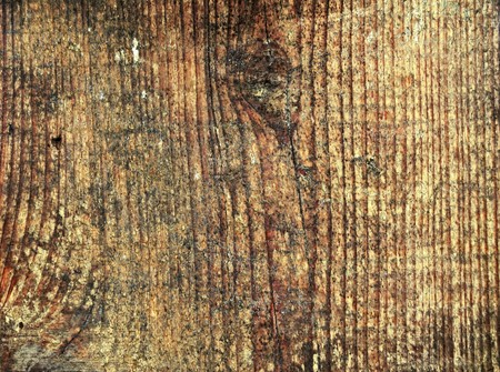 close-up to old wooden fence
