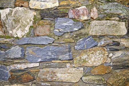 Vieux mur de Pierre texture Banque d'images