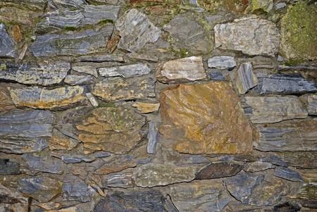 Vieux mur de pierre de texture