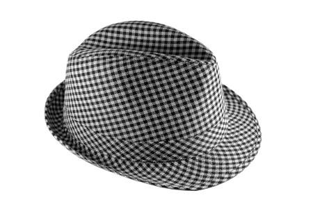 Beau chapeau sur fond blanc isol�