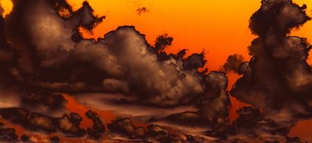 Warm ciel et les nuages