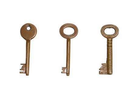 isolated keys