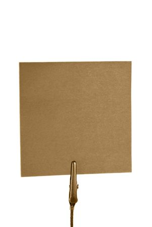 Blank notepaper Stock Photo - 4435523