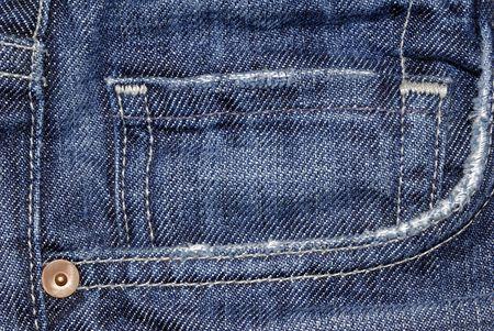 Blue jean pocket macro