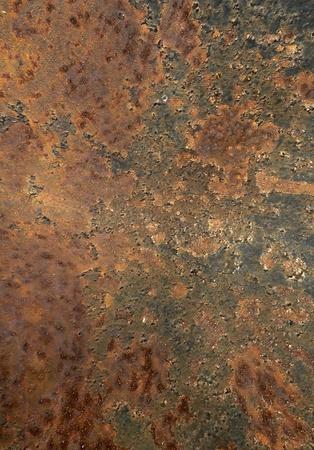 Rusty metal surface