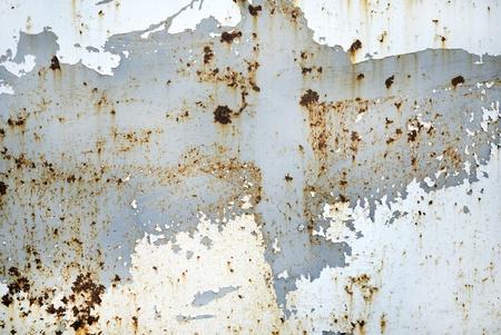 Surface en m�tal rouill� Banque d'images