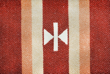 Pattern of Traditional Turkish Rug called Kilim photo