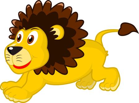 childern: Lion Cartoon Animal