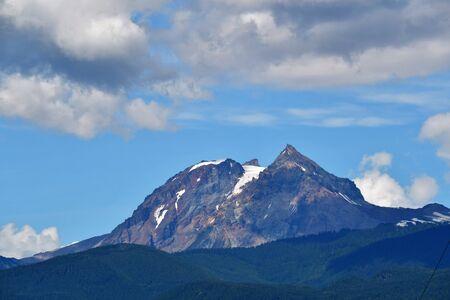 A View of Diamond Head mountain. Squamish BC Canada Stock Photo