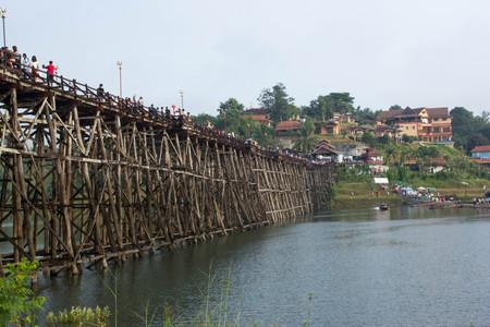 kanchanaburi: Mon bridge thailand