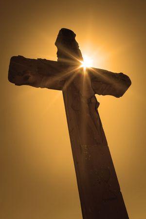 Het kruis van Golgatha de plaats van hoop