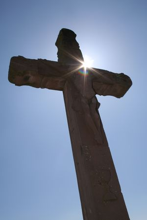 crucify: The cross of Golgatha the place of hope