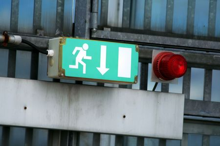 emergency exit Stock Photo - 4936782