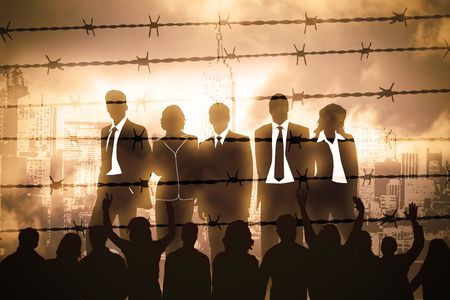 captives: the banking managers behind barbed wire