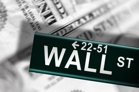 Wall street financial crash