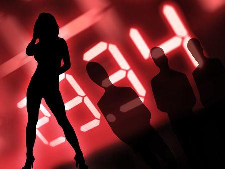 prostitution: nighttime