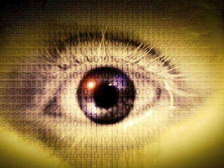 digital eye Reklamní fotografie