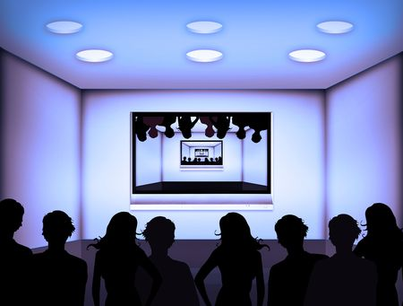 dreaming crazy things about a television room photo