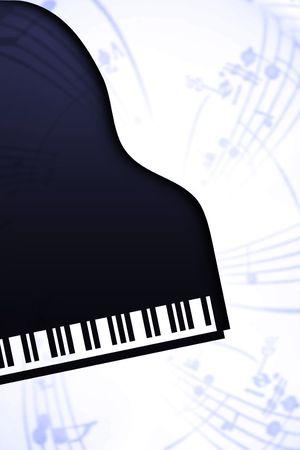 piano de cola: piano