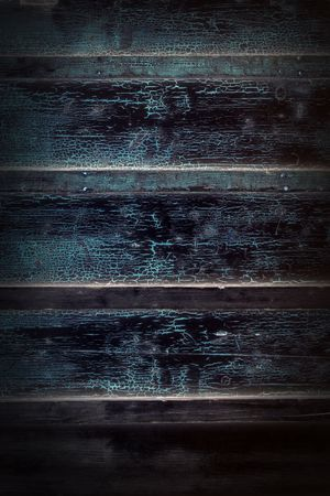 secondhand: planks and boards of an old wooden house