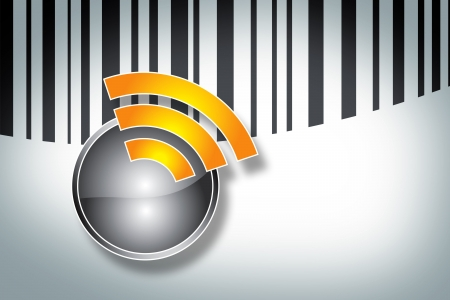 rfid: New technology of the Radio Frequency Identification Stock Photo