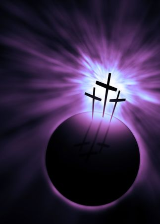 The creation is saved by the Lord Jesus Christ Stock Photo - 4939658
