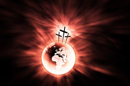 alabando a dios: La creaci�n es salvado por el Se�or Jesucristo