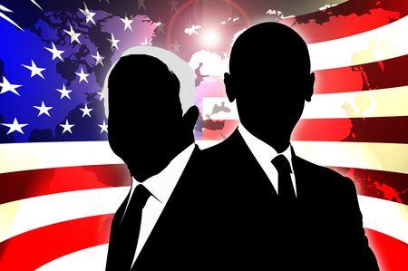 verkiezing van de Voorzitter Stockfoto