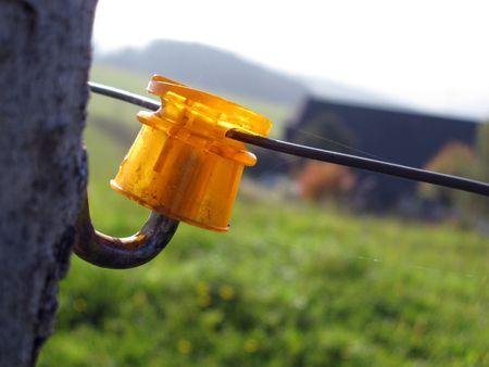 incarcerate: fence Stock Photo