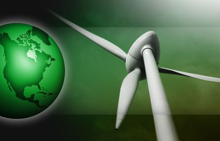windy energy: alternative power produced by the wind and air