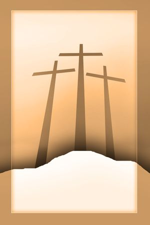 mercy: three crosses