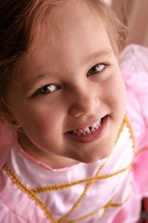 nice portrait picture of a little princess