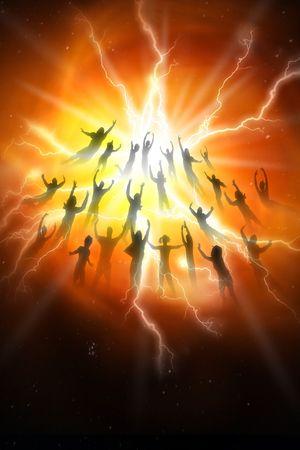 perdonar: El Rapture de las personas del mundo