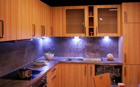 détail dans une cuisine moderne et des nouvelles Banque d'images