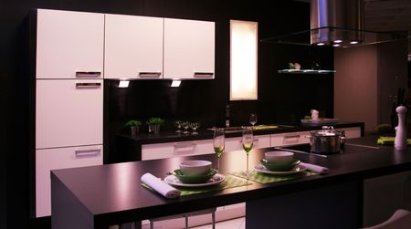 detail in a modern and new kitchen Stock Photo - 5695559