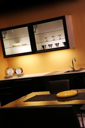 detail in a modern and new kitchen photo