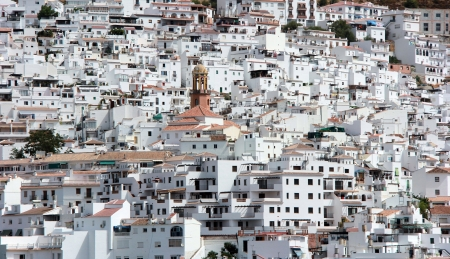 nice little white village in andalusia spain Stock Photo - 15236896